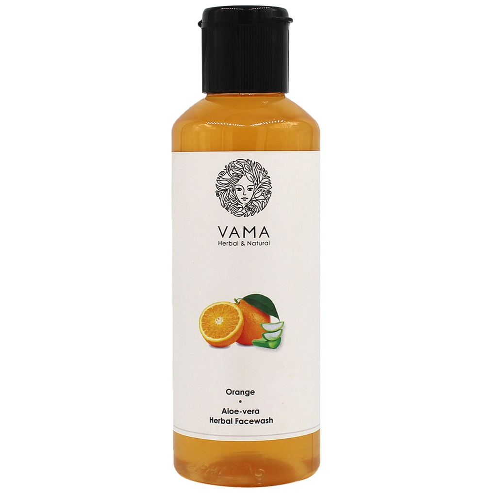 VAMA Herbal Orange Alovera Facewash 210ml